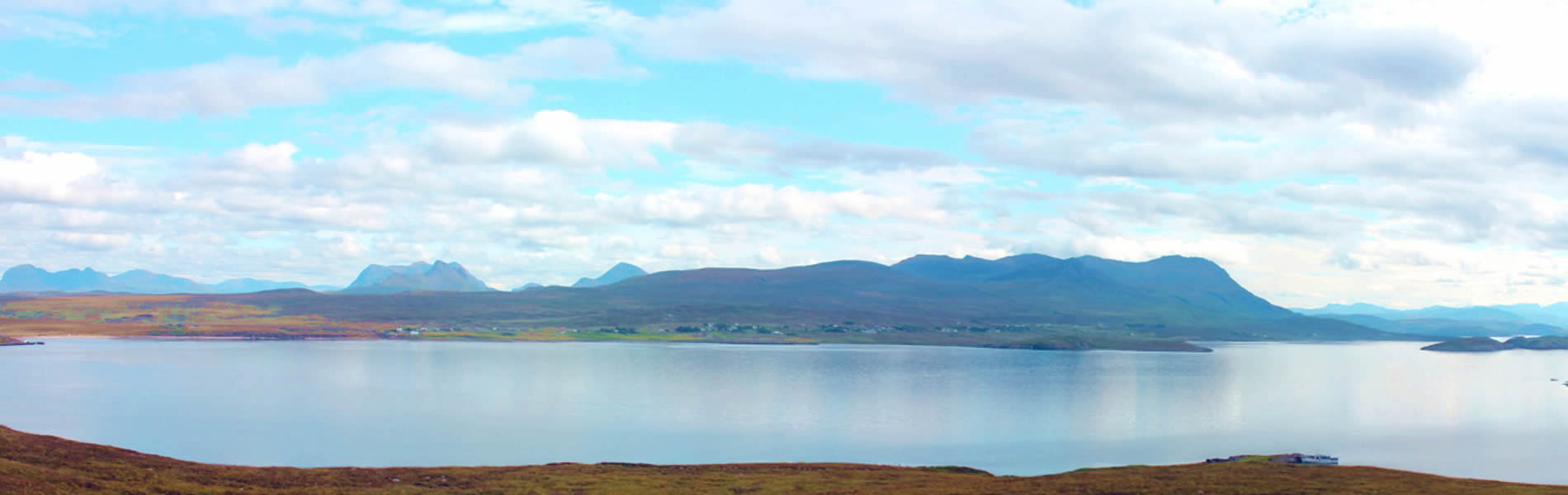 View from Tanera Mor to Achiltibuie and Coigach